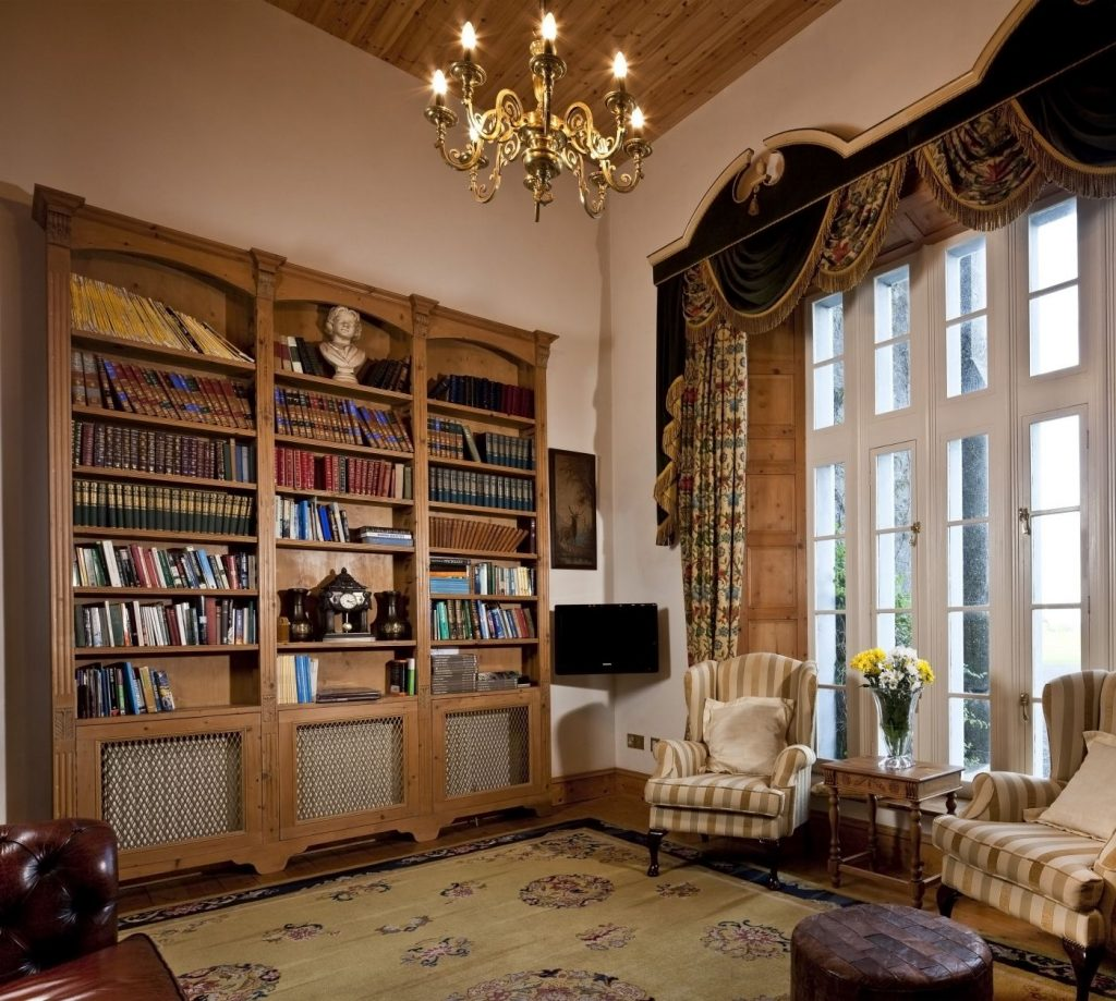 Castle Library - luxury vacation rental
