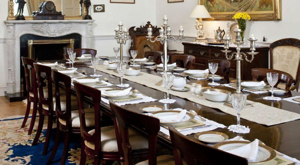 Castle Dining Room - luxury castle vacation rental