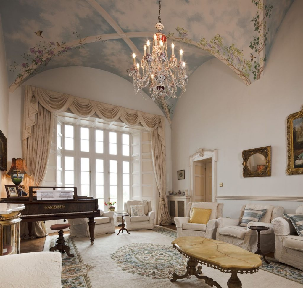 Castle Drawing Room - luxury castle accommodation Ireland | Castle Wedding Venue