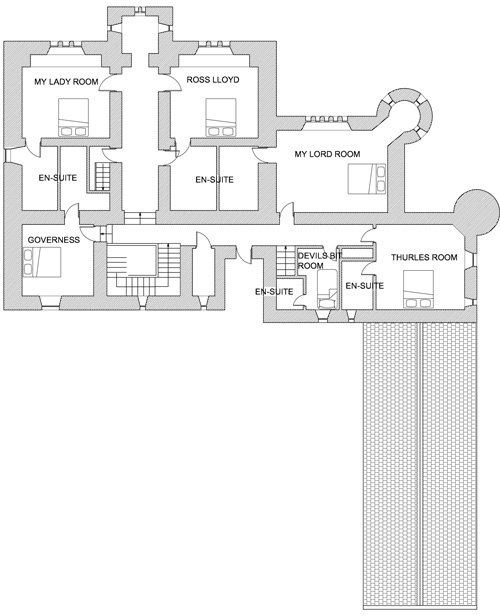 Castle Floor Plans Castle Ireland Luxury Accommodation