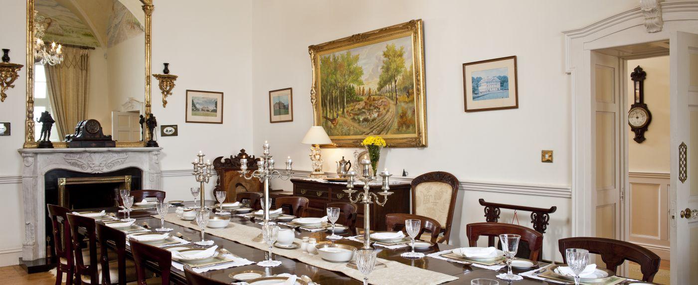 Castle Dining Room Ireland