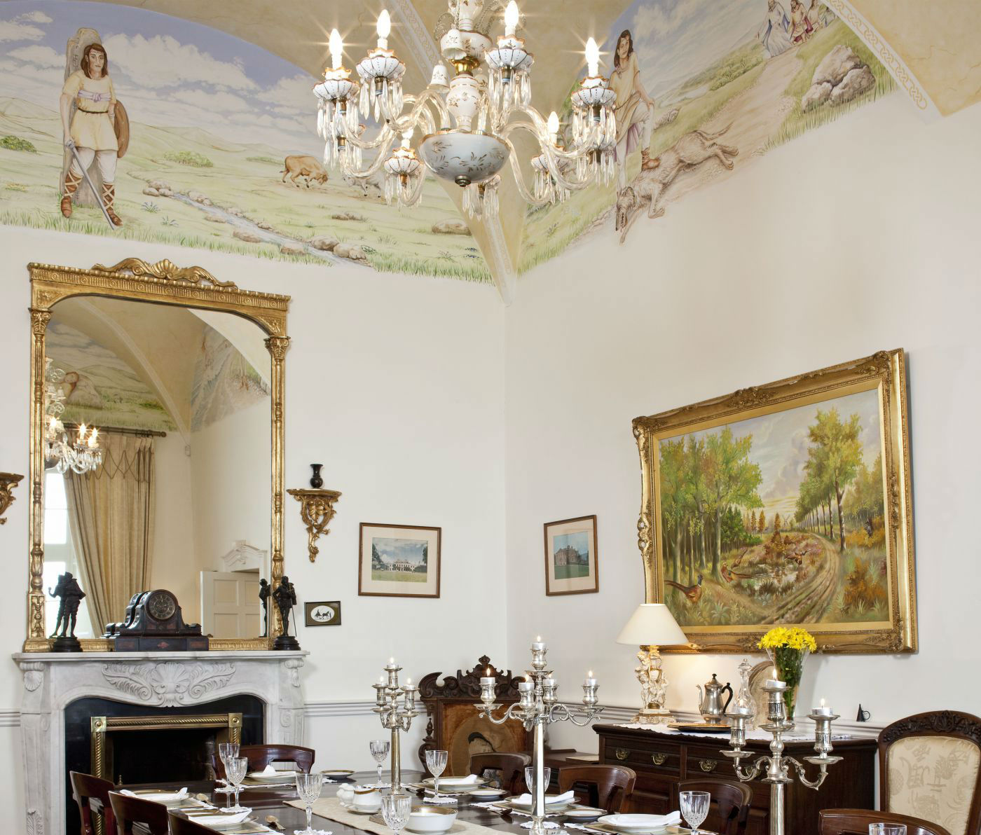 Castle Dining Room - luxury restored castle