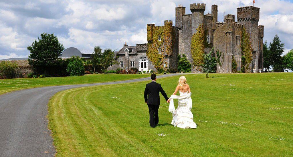 Irish Castle Wedding Venue, Lisheen Castle Tipperary