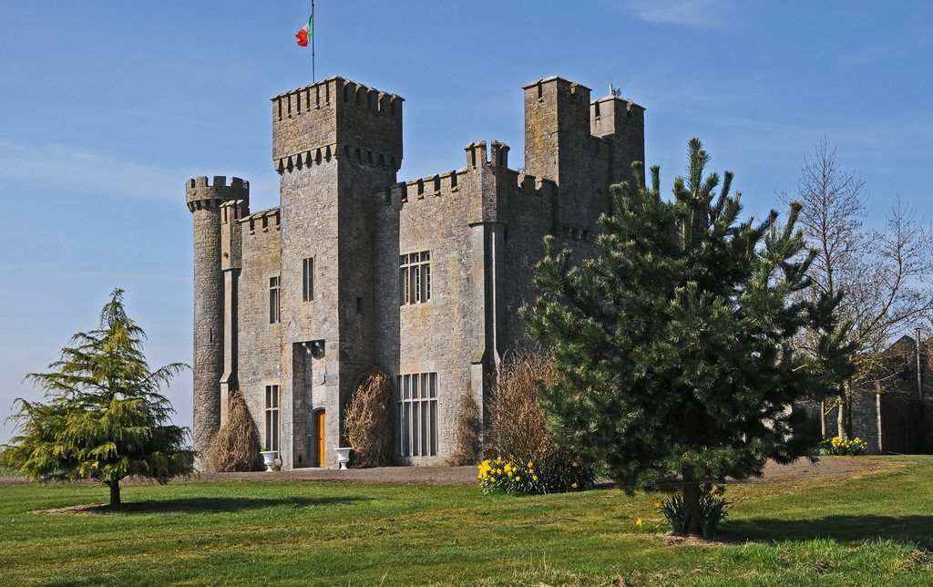 Unique Accommodation in Lisheen Castle