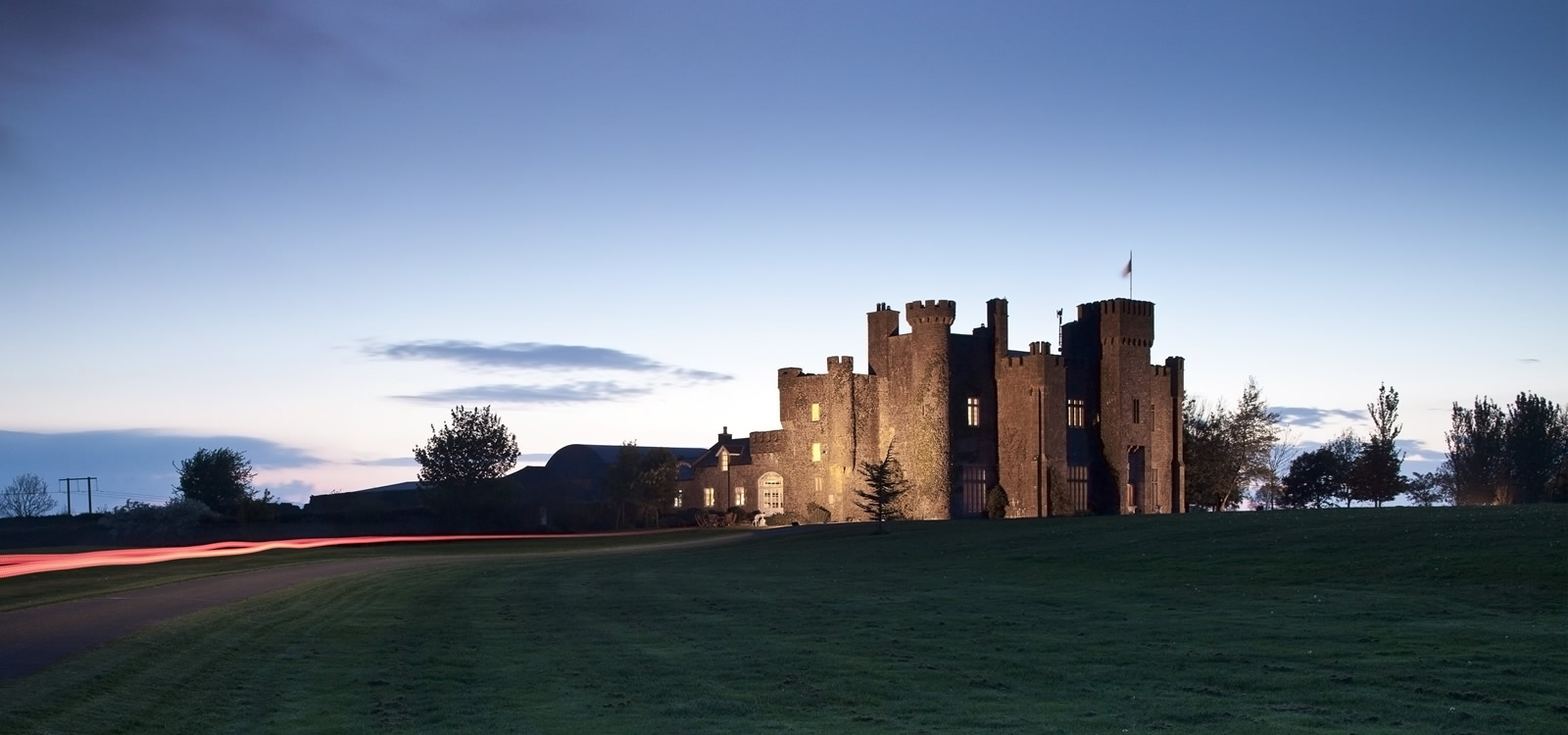 Lisheen Castle - restored ruin to luxurious castle vacation property