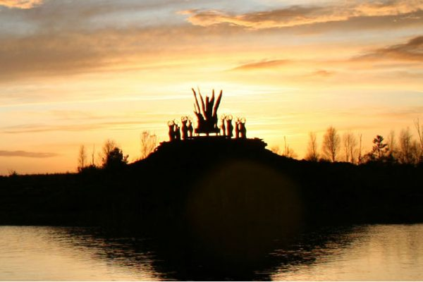 Lough Boora Discovery Park - Sculptures