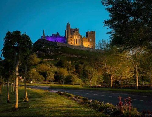 Rock of Cashel – Blue & Gold for Tipp
