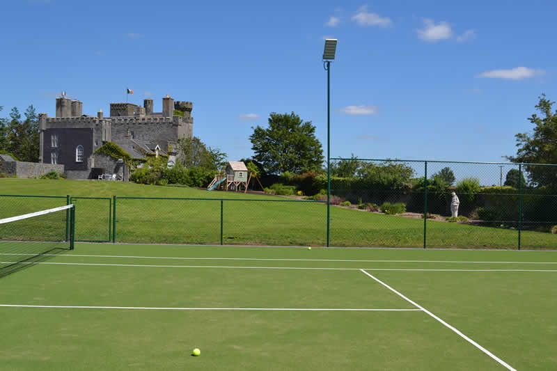 Lisheen Castle Tennis Court Fun For All Guests