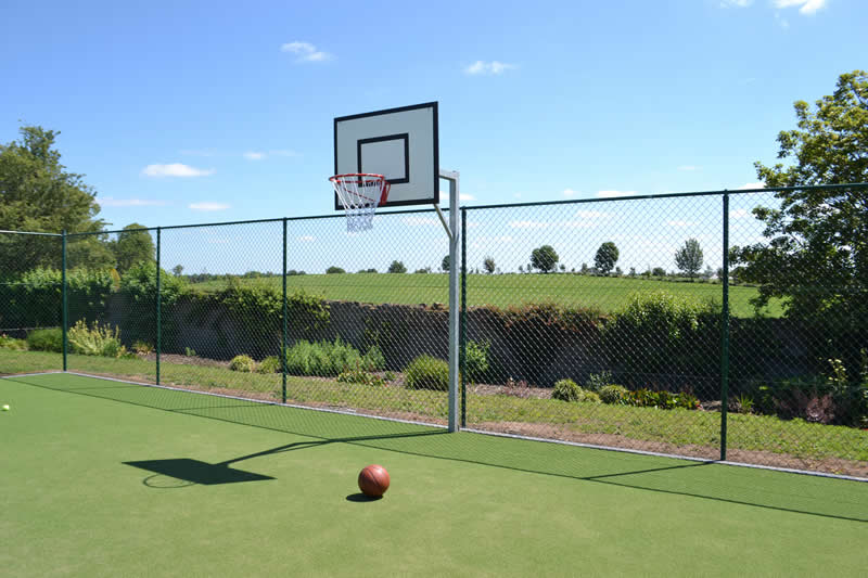 Lisheen Castle Basketball Court Fun For All Guests