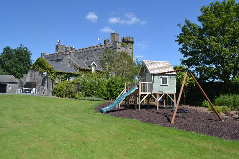 Lisheen Castle Playground Fun For All The Kids