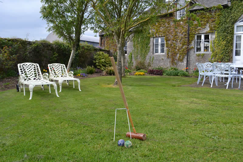 Lisheen Castle Croquet In The Garden Fun For All Guests