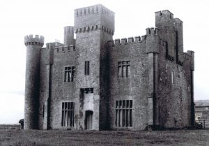 Lisheen Castle in the 1970s