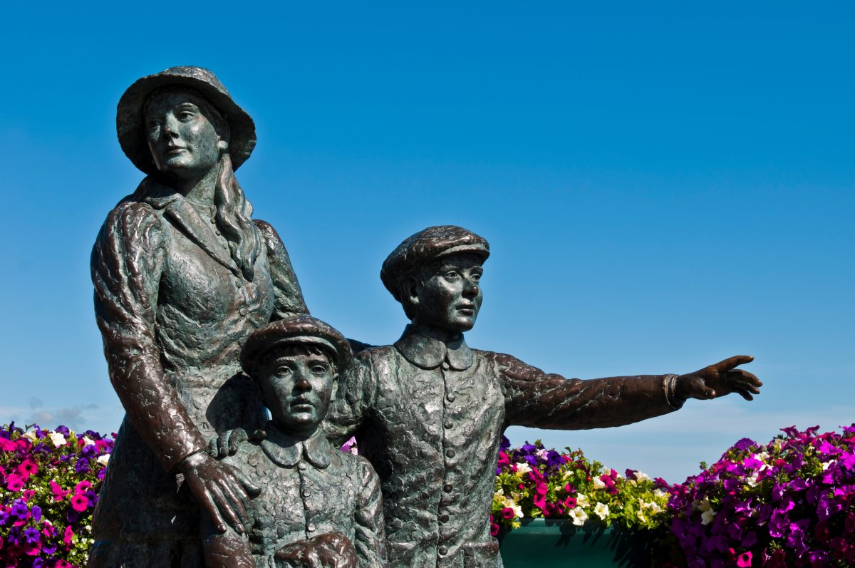 The Annie Moore Memorial Cobh