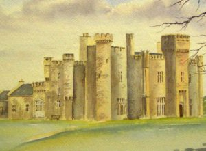 Painting of Lisheen Castle