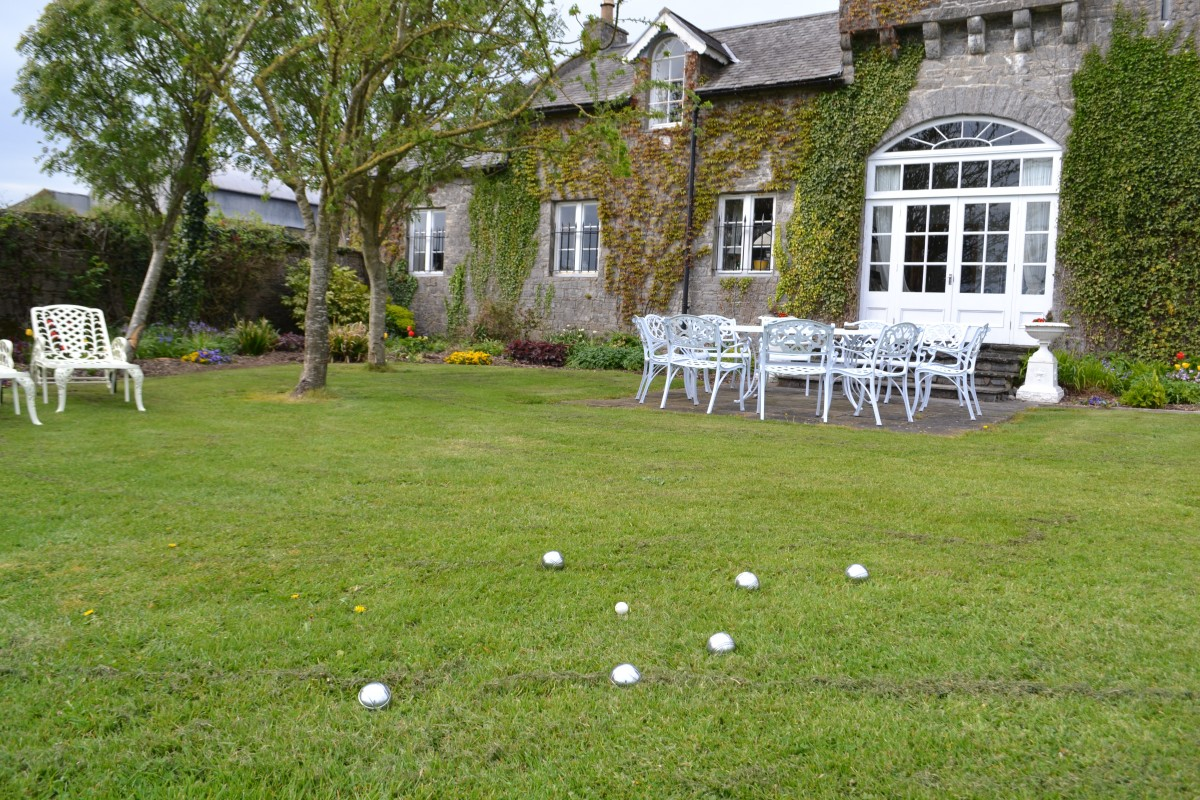 Lisheen Castle Bocce