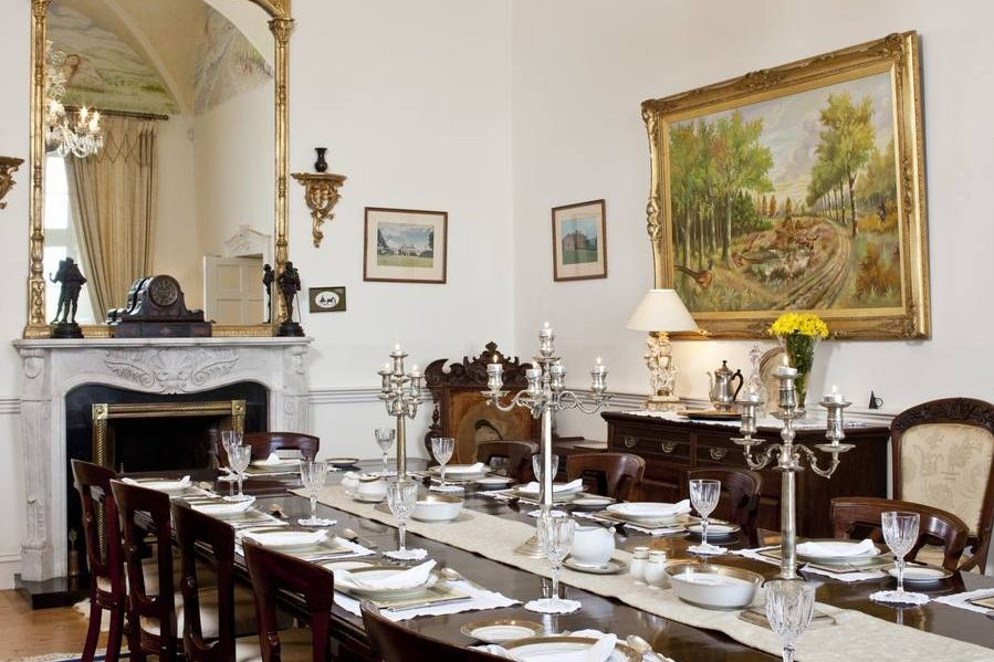 Castle Dining Room - luxury vacation rental